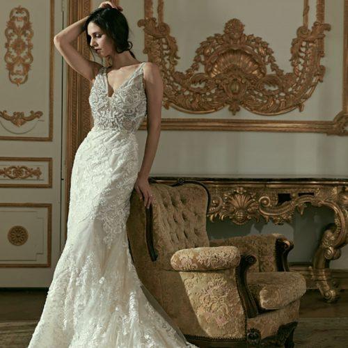 فستان زفاف ناعم